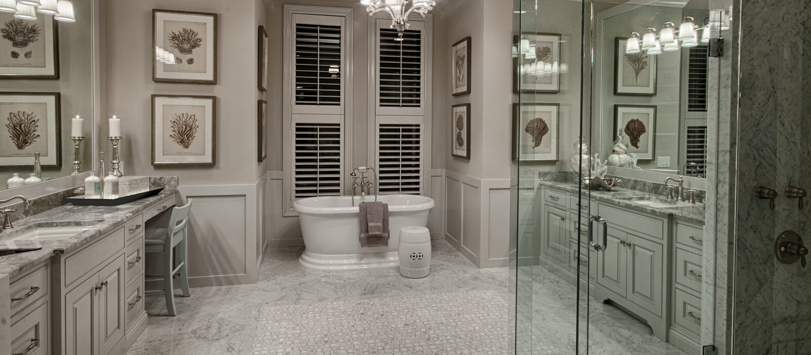 transitional bathroom gallery - Transitional Bathrooms